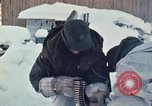 """Image of Canadian machine gun emplacement in NATO Exercise """"Arctic Express"""" Norway, 1970, second 18 stock footage video 65675043186"""