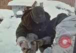 """Image of Canadian machine gun emplacement in NATO Exercise """"Arctic Express"""" Norway, 1970, second 19 stock footage video 65675043186"""