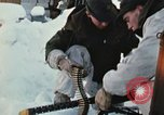 """Image of Canadian machine gun emplacement in NATO Exercise """"Arctic Express"""" Norway, 1970, second 20 stock footage video 65675043186"""