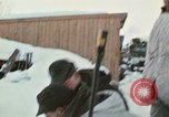 """Image of Canadian machine gun emplacement in NATO Exercise """"Arctic Express"""" Norway, 1970, second 24 stock footage video 65675043186"""