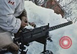"""Image of Canadian machine gun emplacement in NATO Exercise """"Arctic Express"""" Norway, 1970, second 33 stock footage video 65675043186"""