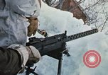 """Image of Canadian machine gun emplacement in NATO Exercise """"Arctic Express"""" Norway, 1970, second 34 stock footage video 65675043186"""