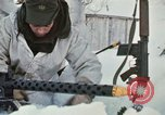 """Image of Canadian machine gun emplacement in NATO Exercise """"Arctic Express"""" Norway, 1970, second 35 stock footage video 65675043186"""