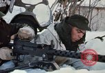 """Image of Canadian machine gun emplacement in NATO Exercise """"Arctic Express"""" Norway, 1970, second 39 stock footage video 65675043186"""
