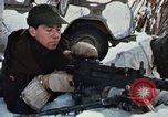 """Image of Canadian machine gun emplacement in NATO Exercise """"Arctic Express"""" Norway, 1970, second 41 stock footage video 65675043186"""