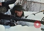 """Image of Canadian machine gun emplacement in NATO Exercise """"Arctic Express"""" Norway, 1970, second 58 stock footage video 65675043186"""