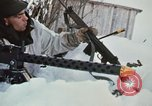 """Image of Canadian machine gun emplacement in NATO Exercise """"Arctic Express"""" Norway, 1970, second 60 stock footage video 65675043186"""