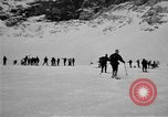 Image of Ski patrolmen Garmisch-Partenkirchen Germany, 1965, second 49 stock footage video 65675043200