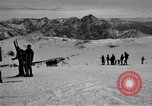 Image of Ski patrolmen Garmisch-Partenkirchen Germany, 1965, second 55 stock footage video 65675043200