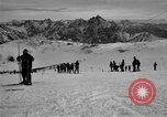Image of Ski patrolmen Garmisch-Partenkirchen Germany, 1965, second 59 stock footage video 65675043200