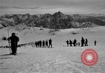 Image of Ski patrolmen Garmisch-Partenkirchen Germany, 1965, second 60 stock footage video 65675043200