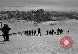 Image of Ski patrolmen Garmisch-Partenkirchen Germany, 1965, second 61 stock footage video 65675043200