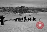 Image of Ski patrolmen Garmisch-Partenkirchen Germany, 1965, second 62 stock footage video 65675043200