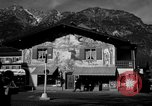 Image of Houses Garmisch-Partenkirchen Germany, 1965, second 4 stock footage video 65675043202