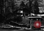 Image of Houses Garmisch-Partenkirchen Germany, 1965, second 42 stock footage video 65675043202