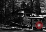 Image of Houses Garmisch-Partenkirchen Germany, 1965, second 43 stock footage video 65675043202