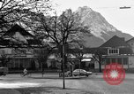 Image of Houses Garmisch-Partenkirchen Germany, 1965, second 52 stock footage video 65675043202