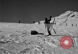 Image of Ski patrol personnel Garmisch-Partenkirchen Germany, 1965, second 61 stock footage video 65675043206