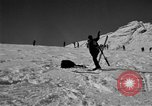 Image of Ski patrol personnel Garmisch-Partenkirchen Germany, 1965, second 62 stock footage video 65675043206