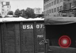 Image of workers unload goods Berlin Germany, 1948, second 18 stock footage video 65675043215