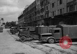 Image of workers unload goods Berlin Germany, 1948, second 23 stock footage video 65675043215