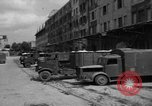 Image of workers unload goods Berlin Germany, 1948, second 28 stock footage video 65675043215