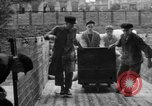 Image of workers unload goods Berlin Germany, 1948, second 29 stock footage video 65675043215