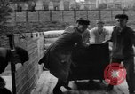 Image of workers unload goods Berlin Germany, 1948, second 30 stock footage video 65675043215