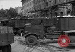 Image of workers unload goods Berlin Germany, 1948, second 33 stock footage video 65675043215
