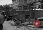 Image of workers unload goods Berlin Germany, 1948, second 34 stock footage video 65675043215