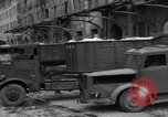 Image of workers unload goods Berlin Germany, 1948, second 36 stock footage video 65675043215