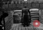 Image of workers unload goods Berlin Germany, 1948, second 38 stock footage video 65675043215