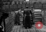 Image of workers unload goods Berlin Germany, 1948, second 39 stock footage video 65675043215