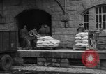 Image of workers unload goods Berlin Germany, 1948, second 40 stock footage video 65675043215