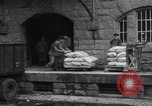 Image of workers unload goods Berlin Germany, 1948, second 41 stock footage video 65675043215