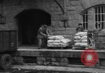 Image of workers unload goods Berlin Germany, 1948, second 42 stock footage video 65675043215