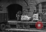 Image of workers unload goods Berlin Germany, 1948, second 43 stock footage video 65675043215