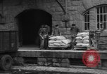 Image of workers unload goods Berlin Germany, 1948, second 44 stock footage video 65675043215