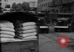 Image of workers unload goods Berlin Germany, 1948, second 46 stock footage video 65675043215