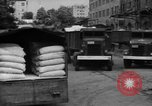 Image of workers unload goods Berlin Germany, 1948, second 47 stock footage video 65675043215