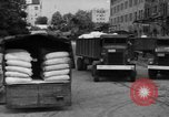 Image of workers unload goods Berlin Germany, 1948, second 48 stock footage video 65675043215