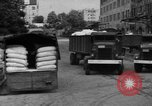 Image of workers unload goods Berlin Germany, 1948, second 49 stock footage video 65675043215