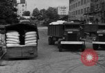Image of workers unload goods Berlin Germany, 1948, second 50 stock footage video 65675043215