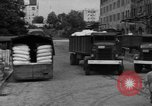 Image of workers unload goods Berlin Germany, 1948, second 51 stock footage video 65675043215