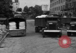 Image of workers unload goods Berlin Germany, 1948, second 53 stock footage video 65675043215