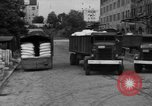 Image of workers unload goods Berlin Germany, 1948, second 54 stock footage video 65675043215