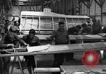 Image of Aircraft assembly factory France, 1918, second 2 stock footage video 65675043237
