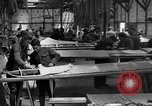 Image of Aircraft assembly factory France, 1918, second 5 stock footage video 65675043237
