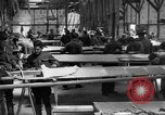 Image of Aircraft assembly factory France, 1918, second 9 stock footage video 65675043237
