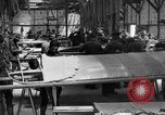Image of Aircraft assembly factory France, 1918, second 10 stock footage video 65675043237
